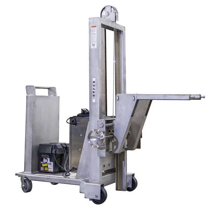 Stainless Steel Lift Truck – Cleanroom