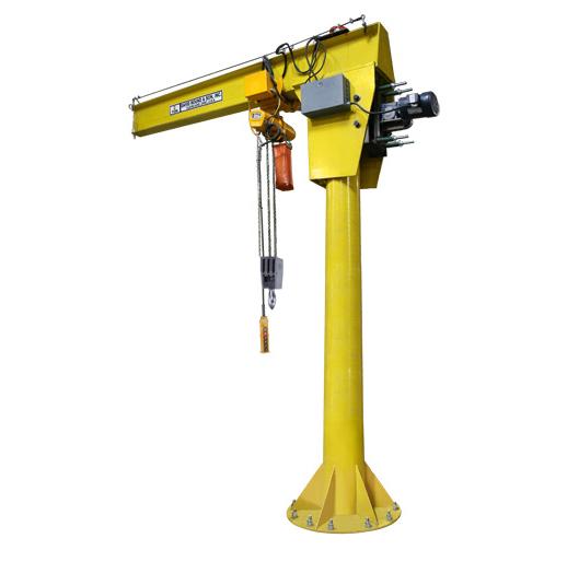 Motorized Jib Crane – Free Standing
