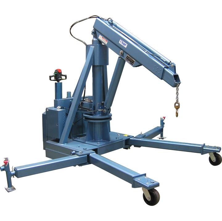 Floor Crane – Custom Adjustable Leg – Swivel