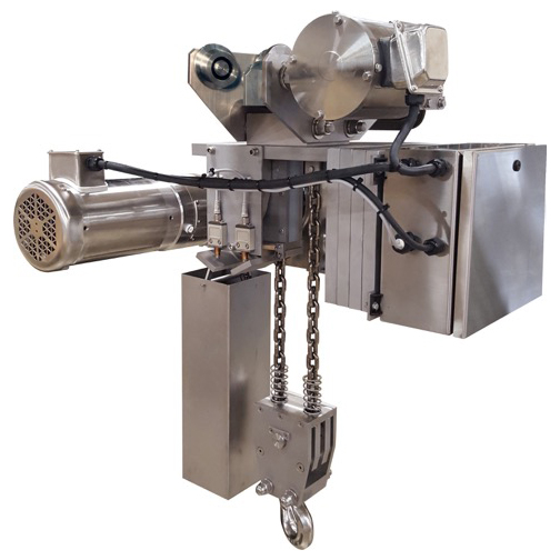 Stainless Steel Chain Hoist – Cleanroom