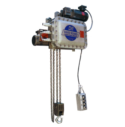 Explosion-Proof Chain Hoist | Hoist for Hazardous Environment