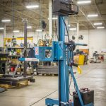 Industrial Manual Lift Truck with Powered Winch Lift