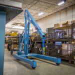 Standard Manual Industrial Floor Crane