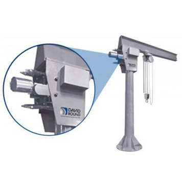 Stainless Steel Jib Crane – Motorized