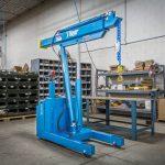 Custom Full Power Straddle Floor Crane by Ruger