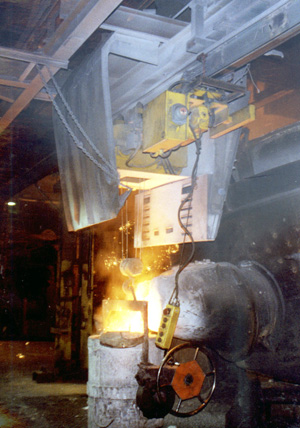 Hot Metal Hoist for Foundry Applications