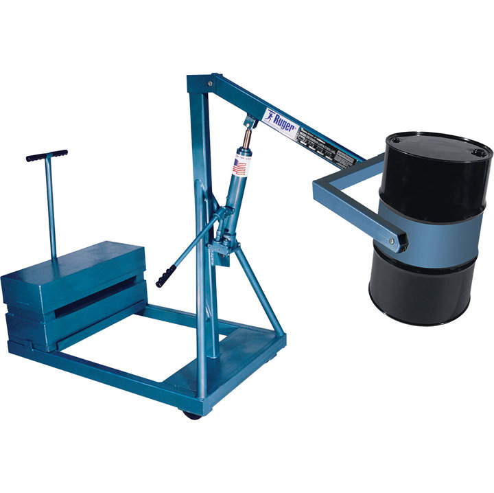 Counterbalance Drum Crane – 55 gallon