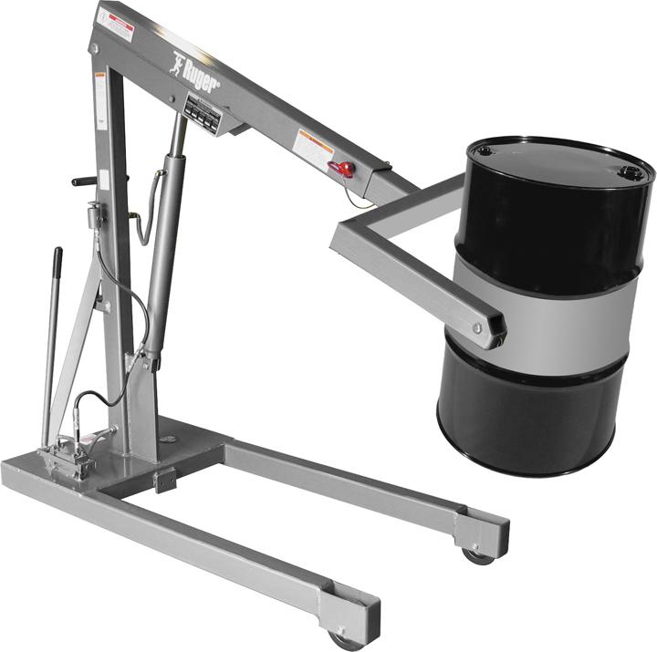 Stainless Steel 55 Gallon Drum Crane
