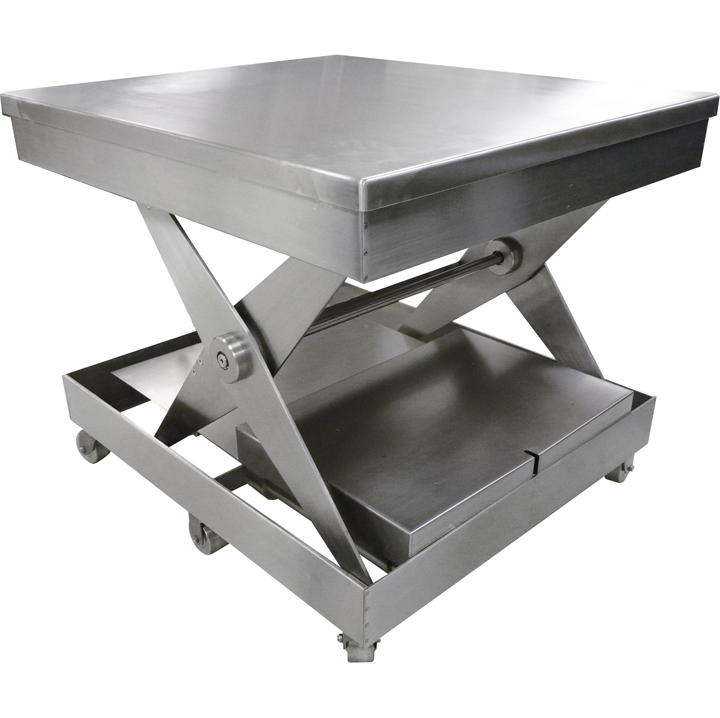 Stainless Steel Lift Table – Cleanroom