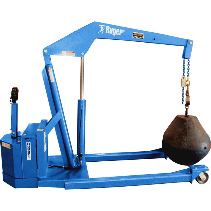 Ruger Standard Straddle Floor Crane, Powered