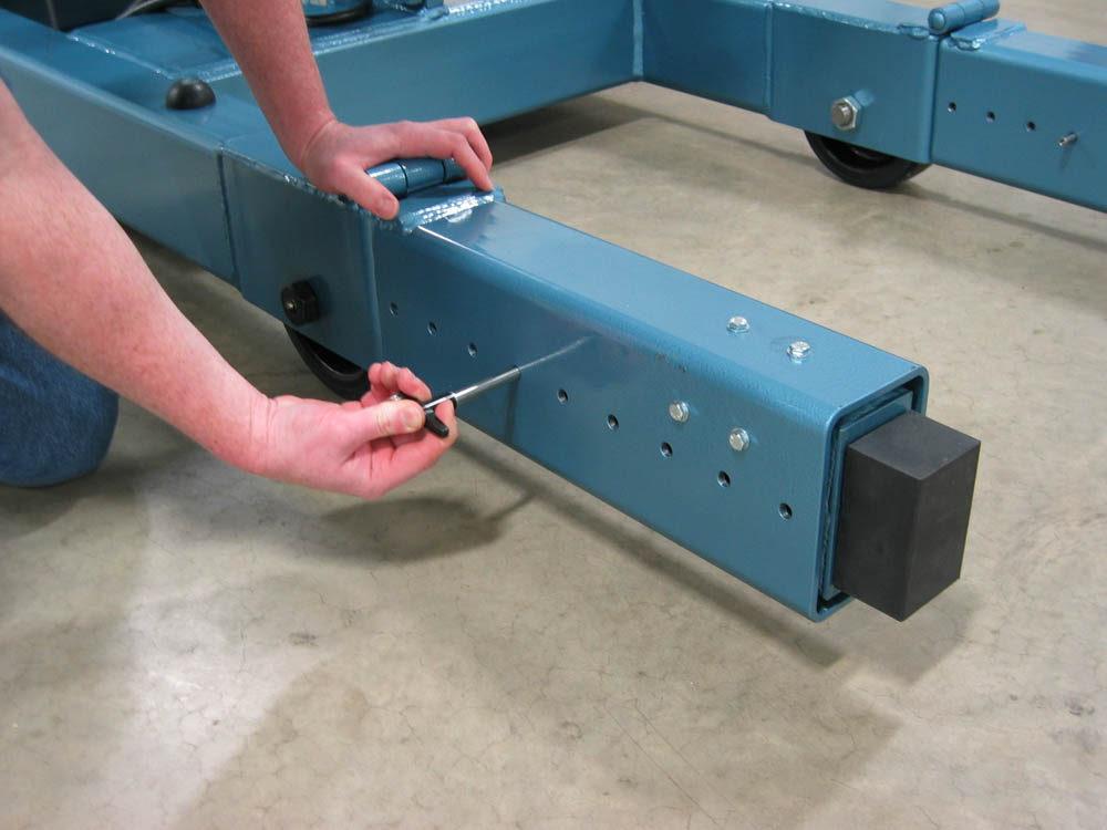 Floor Crane – Foldable Bumpers