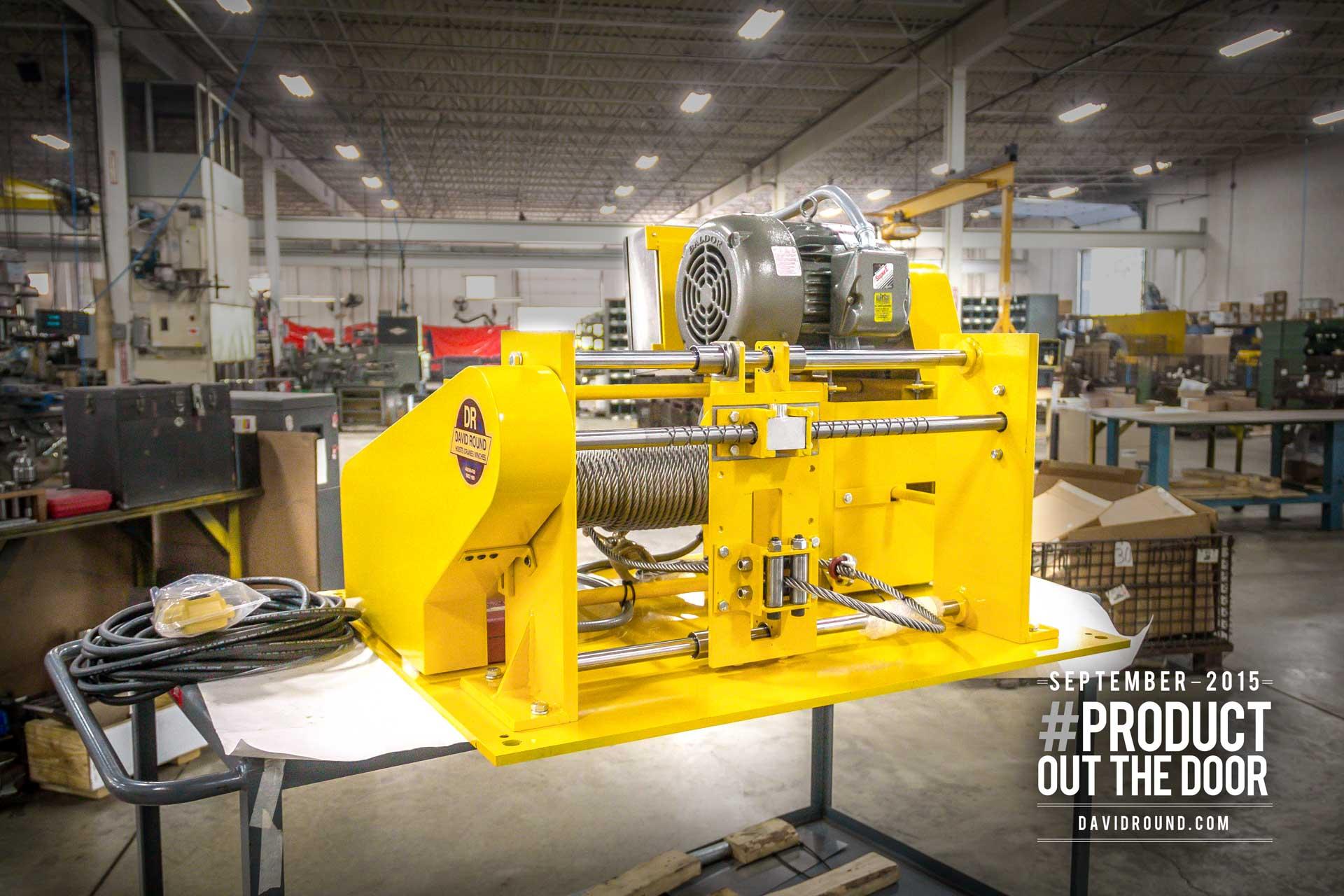 Custom Engineered Industrial WInch the 202 Series