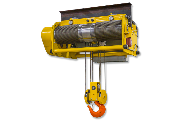 Low Headroom Wire Rope Hoist – Lo-Hed