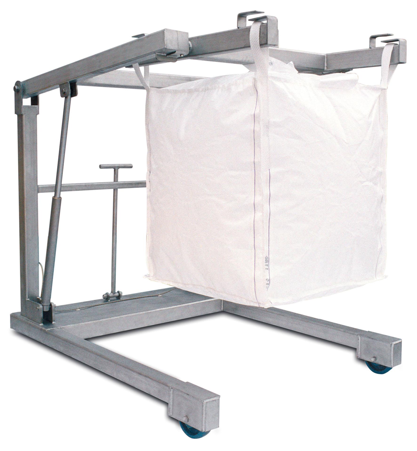 Stainless Steel Bulk Bag Carrier – Unloader