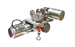Stainless Steel Strap Hoist for Cleanroom Applications