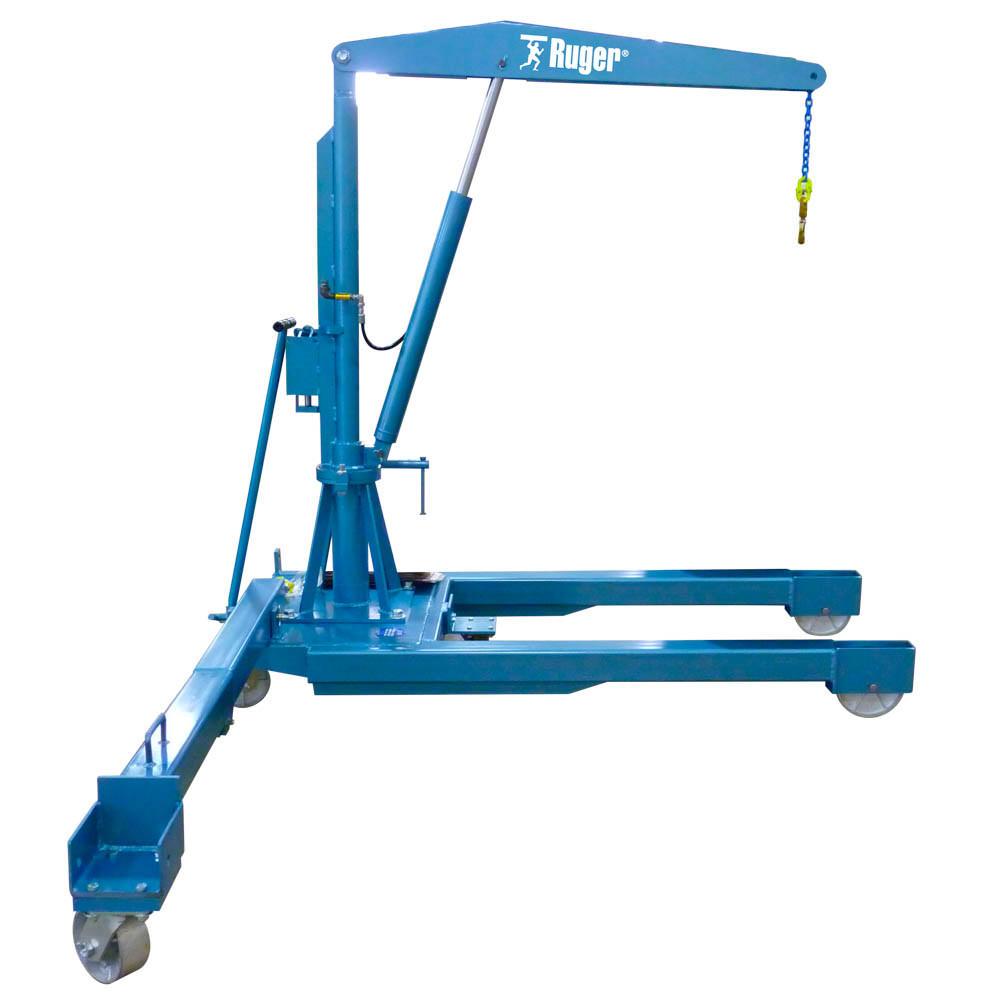 Swivel Boom Floor Crane – Pivot