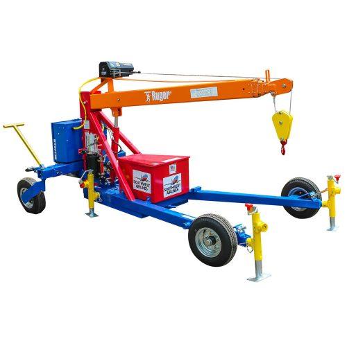Towable Crane