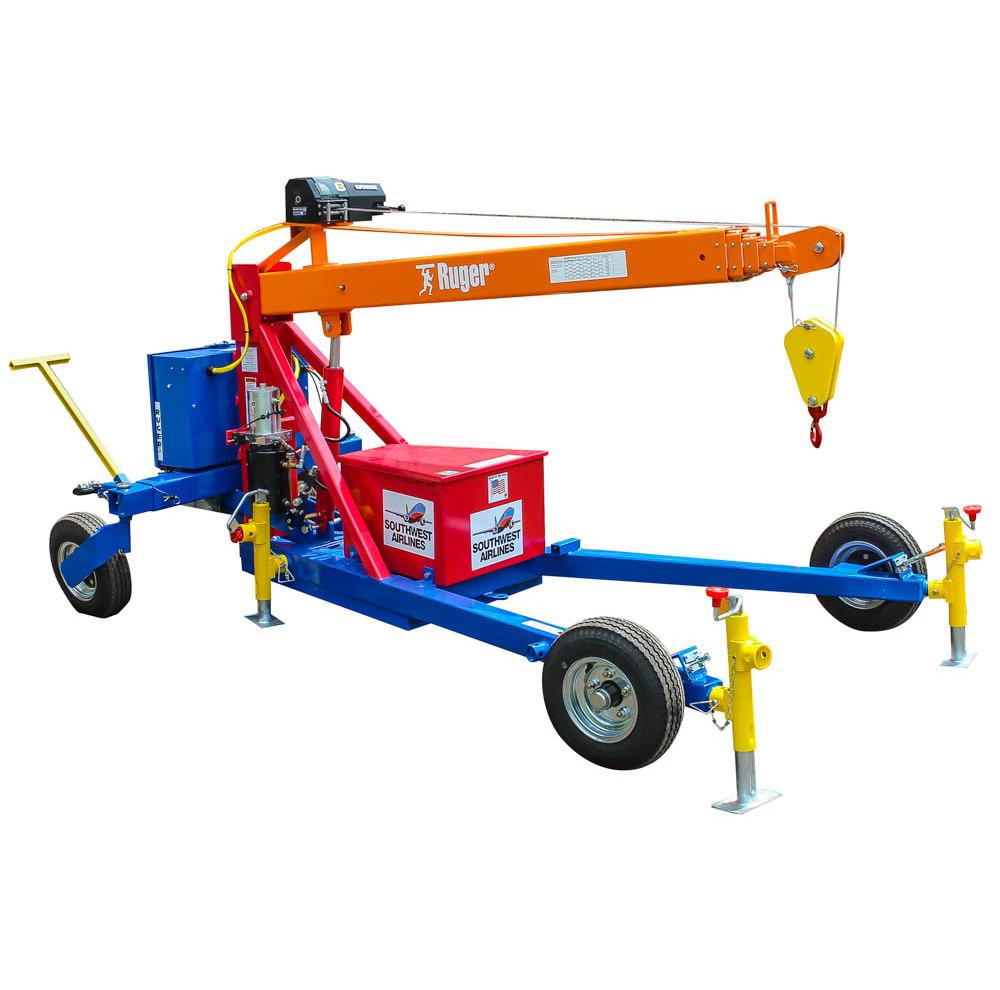 Towable Straddle Crane