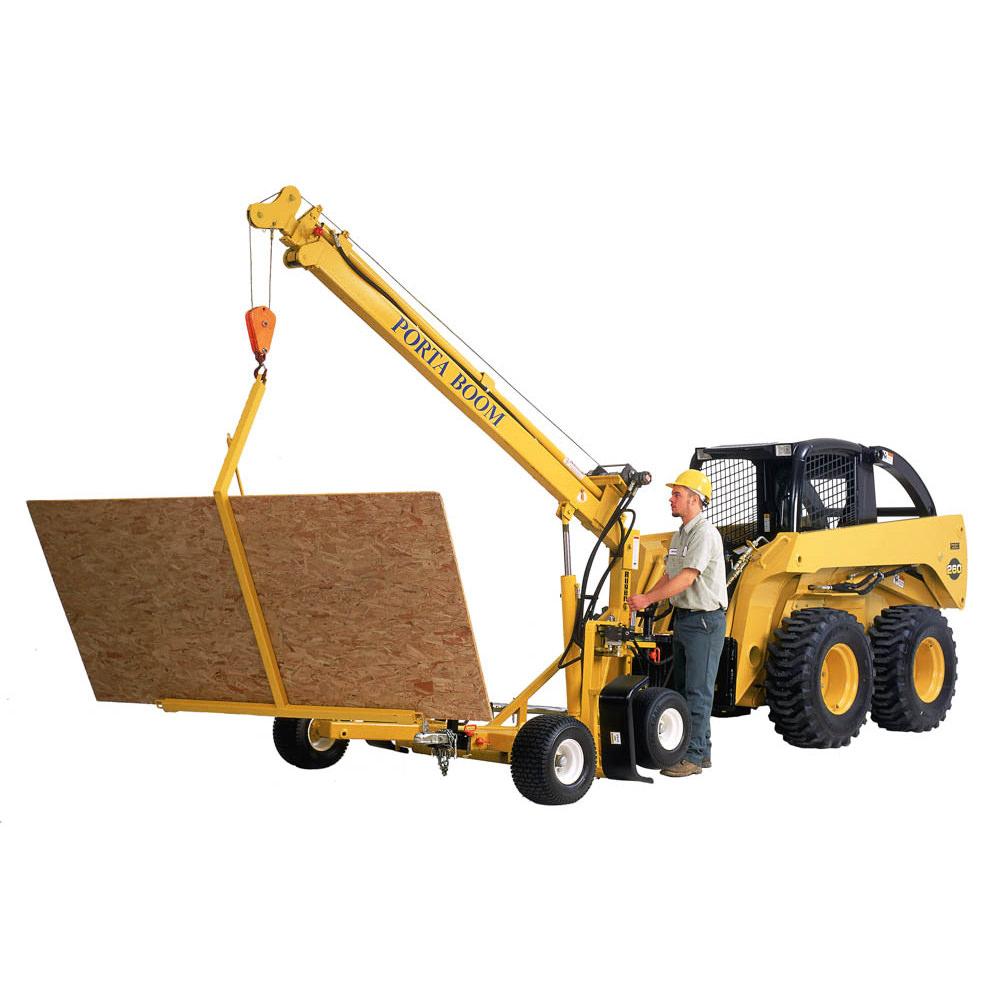 Construction Crane – Skid Mounted