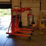 Fully Engineered Floor Crane with Spreader Bar