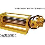 Hydraulic Winch with Lever Control
